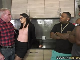 Men fucking women porn videos Avi love brings two black men home for a dp - cuckold sessio
