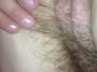 Hairy red pubic gay guys - After her shower her pubic hair on her ass pussy shines