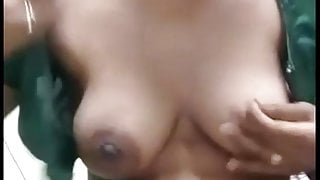 Horny Tamil Wife Striping Out Of Saree For Lover