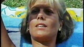 Glynis barber (dempsey and makepeace) in a very small bikini