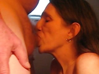Milf cant keep m90 Another close up cant keep up swallowing his cum