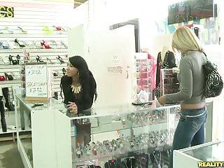 Elida free video porn money talks Realitykings - money talks - ass shopping