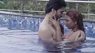 Wife Shilpa fucking hubby & his friend in swimming pool