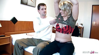 Real German Mature Couple's First Porn for Fun and Cash