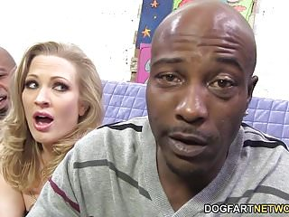 Kdquality hussyfan vicky xxx Double penetration with big black cocks - vicky vixen
