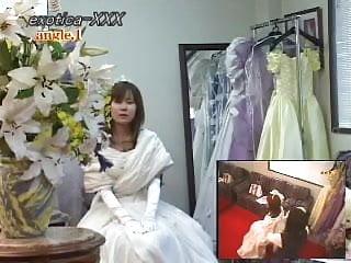 Brides lingerie - Brides to be voyeur video 01