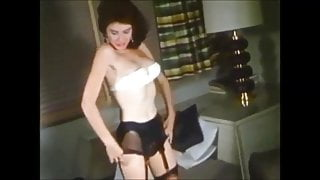 Vintage women in stockings from the '50s