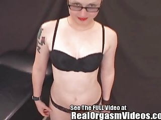 Real lesbian orgasm videos spike sapphic Emo alex has an intense orgasm on dirty ds sybian