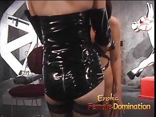 Make bondage Juicy slave doesnt make a sound as the mistress plays