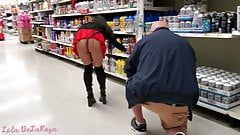 Lola DeLaRosa - Flashing Old Guy Who Was Following Me