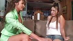 Bionca Seven hot milf seduce and fuck sexy girl Cherry Lane
