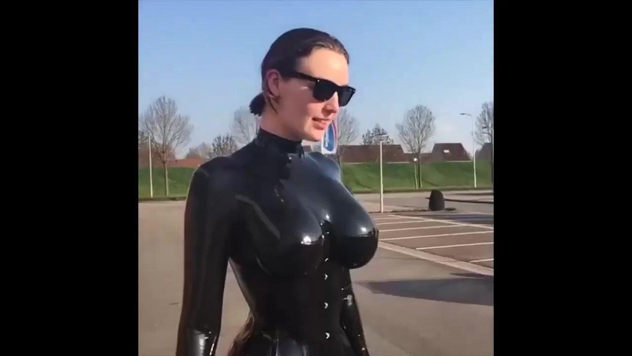 Huge tits latex
