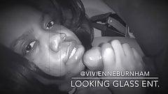 Vivienne Burnham сосет мой хуй, пока я не кончу на ее лице! часть 2