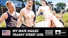 Gothic girl Doreen loves a good boning! StevenShame.dating