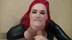 POV sex with redhead chick