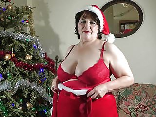 Christmas big tits - Christmas striptease.mp4
