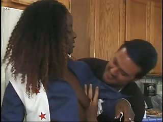 Black teen white guy slut wire - White guy banging sexy black teen cheerleader