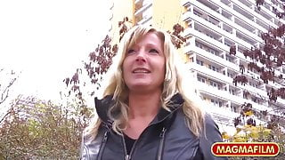 MAGMA FILM – Sexy Milf picked up on the street