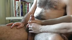 hairy jerk off