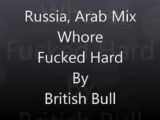 Milf arab sex video Russia, arab mix whore fucked hard by british bull