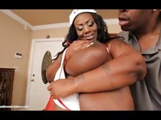 Wwwe naked divas Busty black bbw mz diva nurses a huge cock