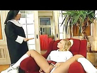Having nun priests sample sex video Nun, priest, and schoolgirl