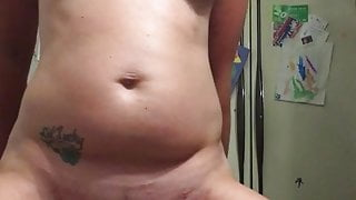 Huge cock makes me squirt