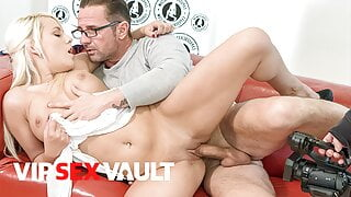 VIP SEX VAULT – Sexy Lucy Shine Tries Hot Anal On Casting Set
