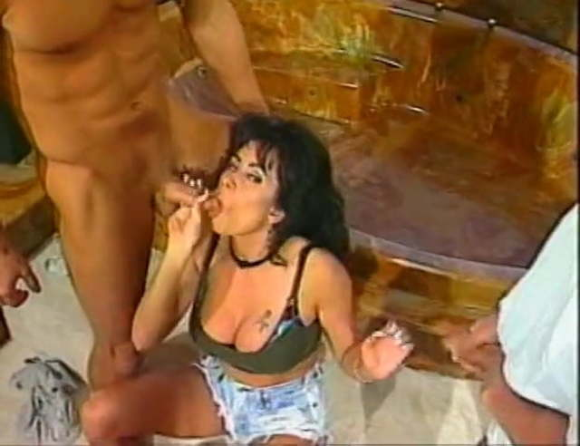 Sharon Lee Anal Threesome