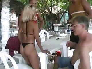 Vacation nudes - Shared wife on vacation