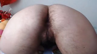 Hairy ass and cunt mature stepmom