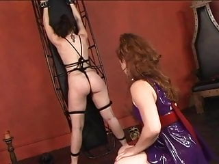 Milfs spanked ass Hot young lesbian restrains her slave girl and whips and spanks her ass