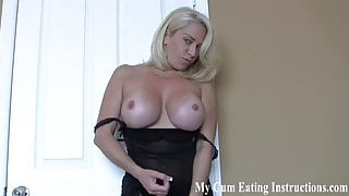 I will make you eat your cum after you jerk off CEI