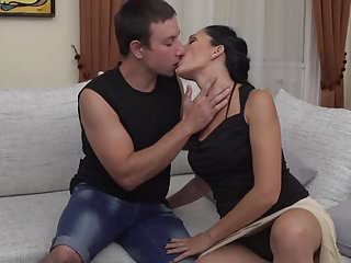 Old granny and young son fucking Naughty milf fucking and sucking young son