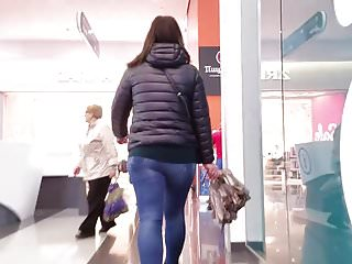 Asian umbrellas Girl with umbrella candid ass