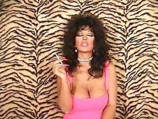 Big boob glamour smokers - Sexy smoker