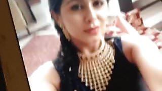Nikki galrani cum tribute