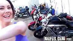 Mofos - Pervs On Patrol - Biker Babe Boobnanza starring Asht