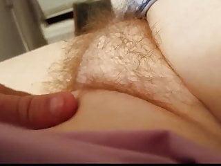 Tight bikini pussy mounds - Wifes soft round hairy pussy mound