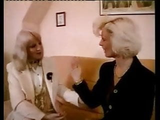 Lesbian moms to be - French mature n56 two blonde lesbian moms