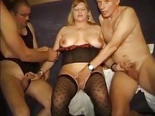 Clare amateur gangbang - German amateur gangbang - complete vid -br