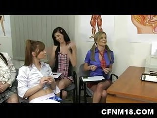 Male penis enlargement exercise Czech teacher teaching his class male penis anatomy