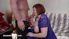 Big tits escort Laura fucking a big cock customer