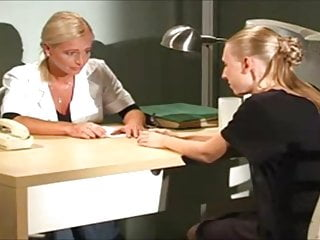 Disciplined by her spanked pussy - Prison whipping after her panties are pulled down