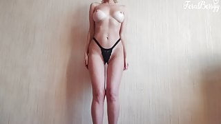 FeralBerry With Sexy Tan Lines Gets Naked On Camera
