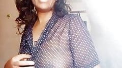 Wairimu-Esther --- more black blouse titty flashing