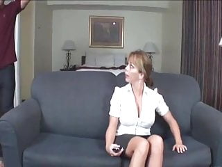Wank me off allover your tits Mom wanks me off