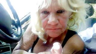 Granny suck cock e19