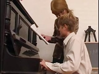 Piano man penis Piano teacher dominates her student