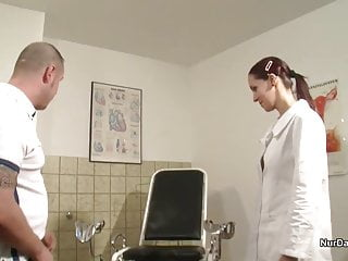 Example of comic strip German nurse want a semen example and get it with fuck
